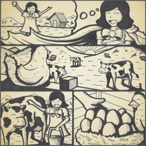 anhhong_comic#3_1pg_sepia
