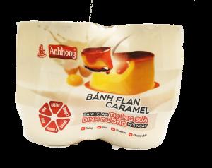 Sản phẩm được thiết kế với lớp màng ép tiện dụng cùng lớp caramel bên dưới bánh. Thích hợp cho các bé mang theo khi đi học, đi chơi và phù hợp cho gia đình khi sử dụng hàng ngày.