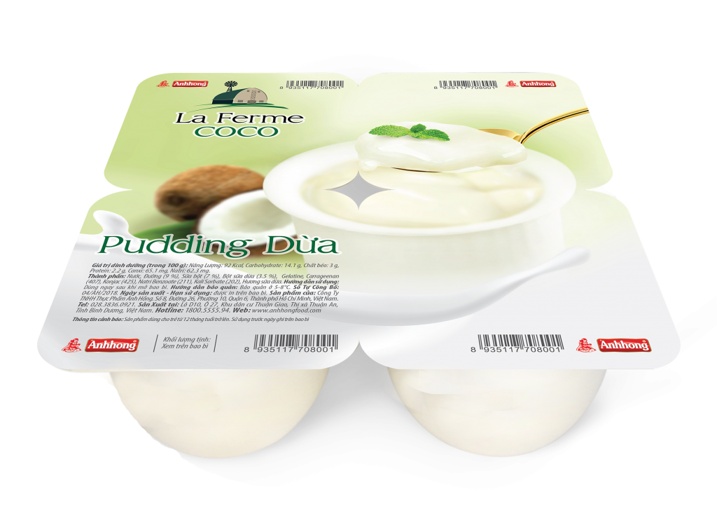 Pudding COCONUT