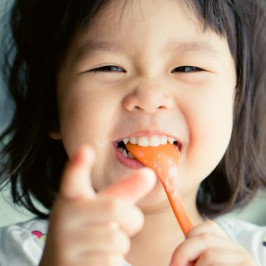 Hệ tiêu hóa khỏe mạnh cho bé yêu mau lớn